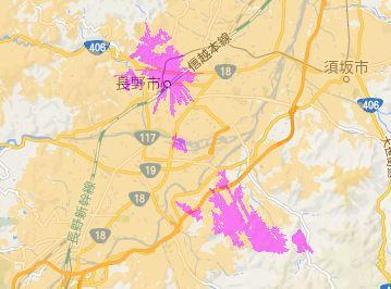 【朗報】いつの間に?長野県長野市がWiMAX2+利用可能エリアに
