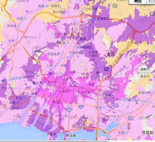 wimax2広島県予定2014-2015